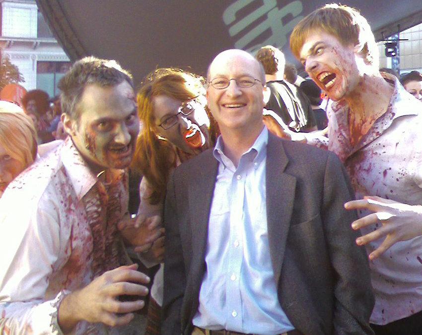 57: Zombie Brains & Psychiatry w/ Dr. Steven Schlozman